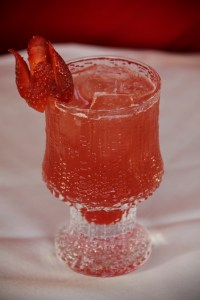 Hot Cherry Blossom cocktail