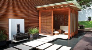 A cabana at chic boutique hotel and spa Villa 32. (Photo Anchyi Wei)