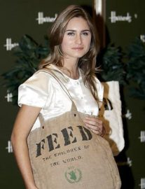 DC10 panelist: Model Lauren Bush designed the FEED bag to raise funds for the United Nations World Food Program