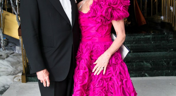 Michael and Susan Pillsbury at the Opera Ball. <i>Photo by Tony Powell.</i>