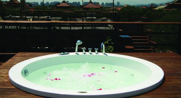 Roof. Courtesy of Emperor Hotel Beijing.