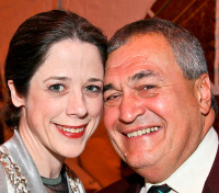 Heather and Tony Podesta