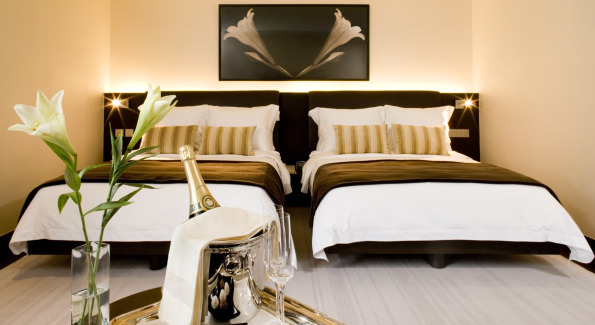 Inside Hotel LKFs Modern Bedroom