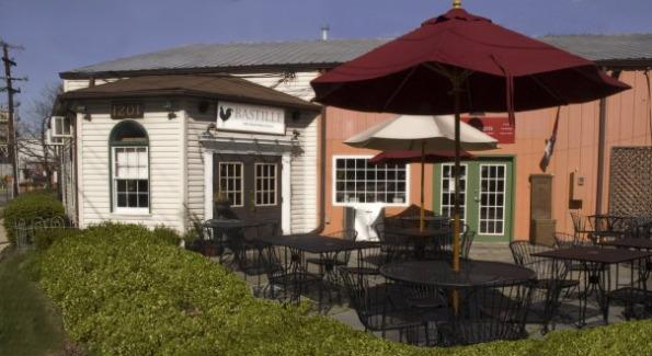 Bastille Restaurant in Old Town Alexandria, VA.