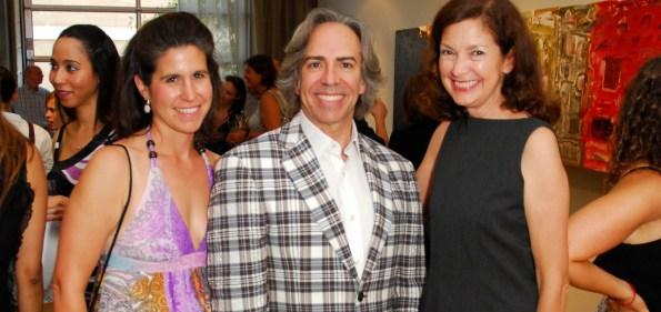 Jennifer Sergent, Ernesto Santalla, and Trish Donnally. Photo by Kyle Samperton