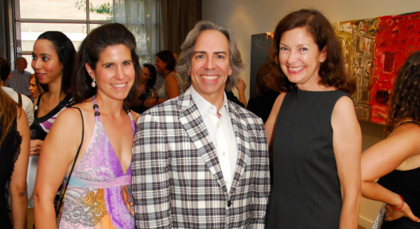 Jennifer Sergent, Ernesto Santalla, and Trish Donnally. Photo by Kyle Samperton