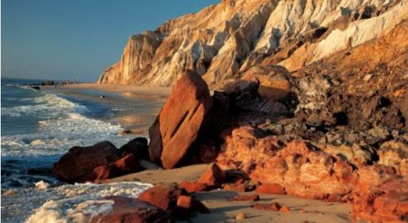 Aquinnah Cliffs, Martha's Vineyard. Courtesy of Peter Simon Photography.