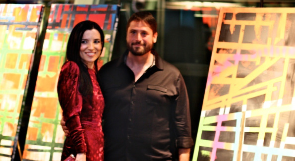 Aureta Thomollari and Drew Nussbaum. Photo by Mike Selsky