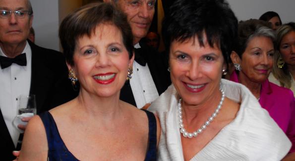 Adrienne Arsht and Deborah Houlihan