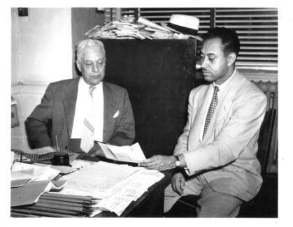 Father & Son - Jesse H. Mitchell & B. Doyle Mitchell