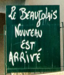 Worldwide events in bars and restaurants signal the release of Beaujolais Nouveau.