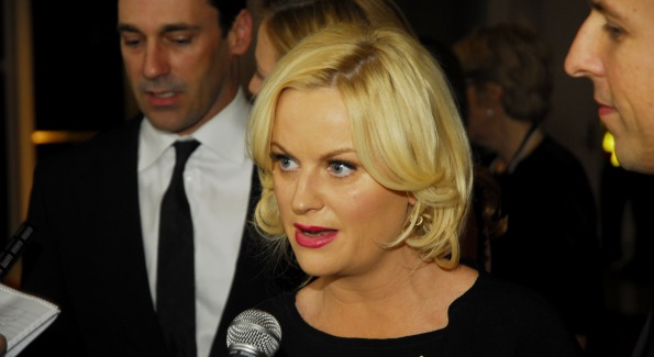 Actress Amy Poehler. Photo by Kyle Samperton.