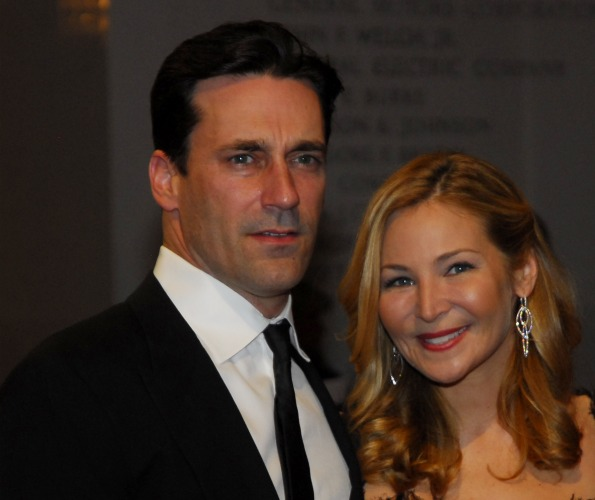 John Hamm and Jennifer Westfeldt. Photo by Kyle Samperton.