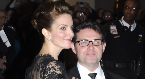 Tina Fey with Husband Jeff Richmond. Photo by Kyle Samperton.