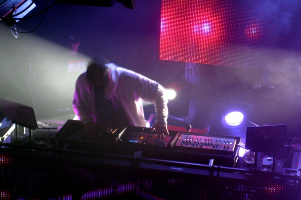 Pretty Lights performs at Bourbon Street Ballroom (photo by Megan Buerger)