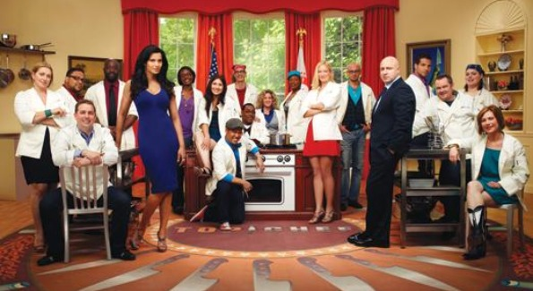 The cast of Top Chef DC.