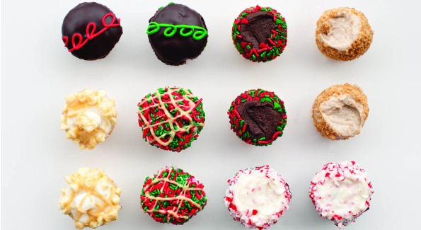 CRUMBS Bake Shop showcases their collection of holiday favorites.