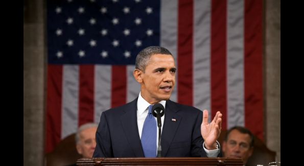 President Barack Obama delivers his State of the Union address in the House Chamber at the U.S. Capitol in Washington, D.C., Jan. 25, 2011. Official White House Photo by Pete Souza.