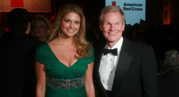 Princess Madeleine of Sweden and Senator Bill Nelson.