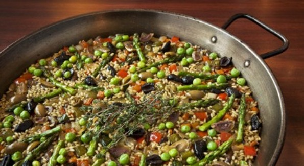 Get a taste of Spain with one of Jaleo's delicious paellas during their Paella Festival.