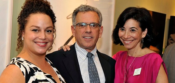 Lauren Gentile, Art Night Curator and Director and Owner of Contemporary Wing, Fred Ognibene, Deputy Director and Washington Project for the Arts Board Chair, Lisa Gold, Executive Director, Washington Project for the Arts. Photo by Hoachlander Davis Photography