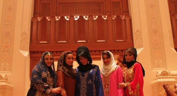 """Opera House Ushers. (Photo by Andrew Brown from his blog """"Andy in Oman"""" www.andyinoman.wordpress.com)"""