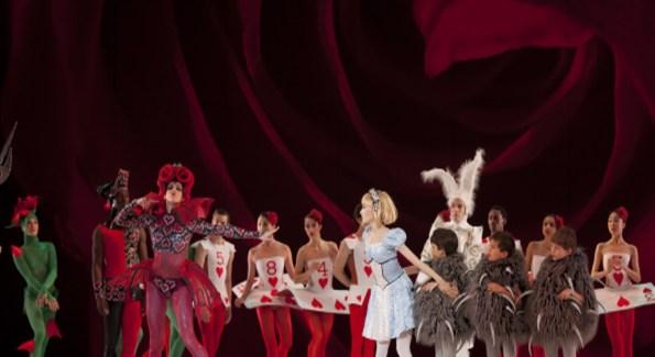 Performing Arts The Washington Ballets Alice In Wonderland