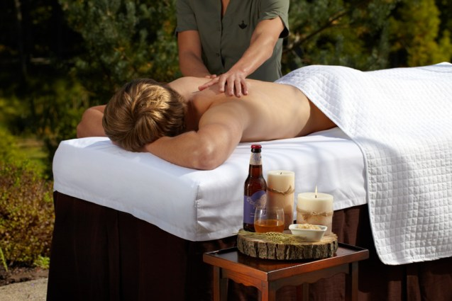 The Royal Revival is one of two beer-inspired spa treatments Photo courtesy of The Lodge at Woodloch.