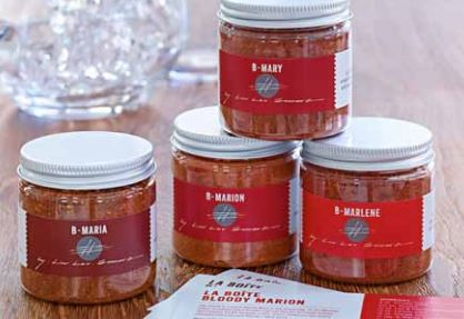 New Bloody Mary spice mixes from La Boite and Jim Meehan kick up the brunchtime staple. Photo courtesy of La Boite and Jim Meehan.