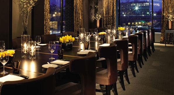 Bourbon Steak is offering three wine dinners in October. (Photo courtesy Bourbon Steak)