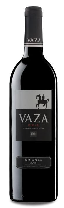 Vaza Crianza appeals to those who like woody, cry, earthy Tempranillos. Photo courtesy of Vaza.