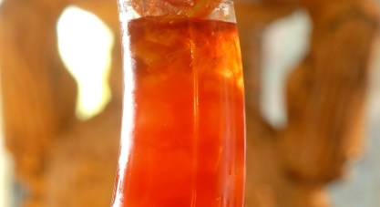 Acadiana will be serving the Category Five punch on Mardi Gras, with light and dark rum. Photo courtesy of Acadiana.