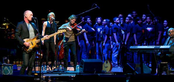 """Sting performED at The Strathmore for the Duke Ellington School of the Arts """"Performance Series of the Arts."""" (courtesy photo)"""