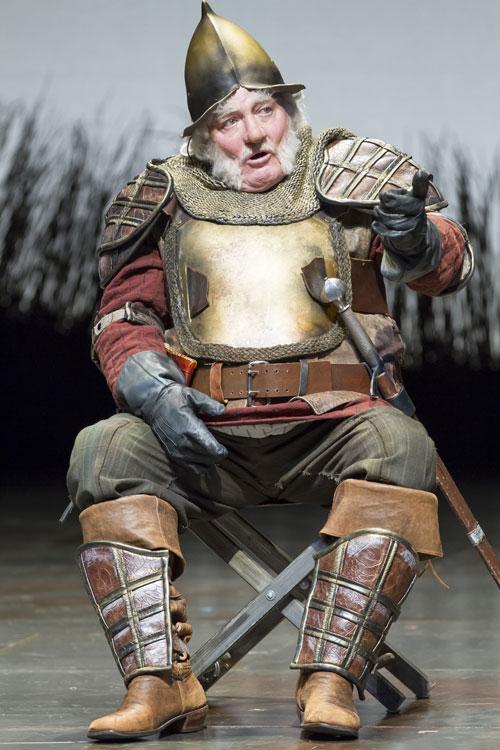 Stacy Keach as Falstaff in 'Henry IV' Part 1 (Photo by Scott Suchman)