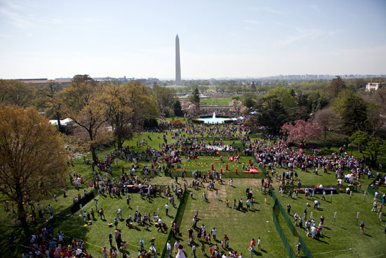 The 2010 Easter Egg Roll (Photo by Lawrence Jackson)
