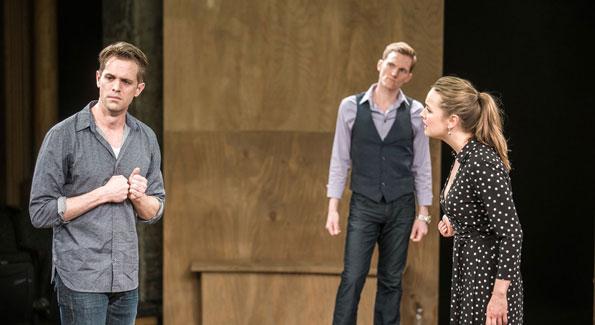 Ben Cole, Scott Parkinson, and Liesel Allen Yeager (Photo by Teddy Wolff)