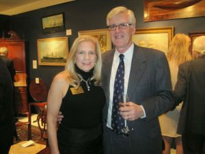 Washington Winter Show board member JoAnn Zuercher with her husband Glenn  Reichardt (Photo by Erica Moody)