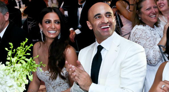 Abeer Al Otaiba and UAE Amb. Yousef Al Otaiba at the 2014 Children's Ball. (Photo by Tony Powell)
