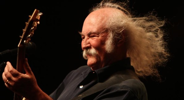 David Crosby soars live (photo courtesy David Crosby)