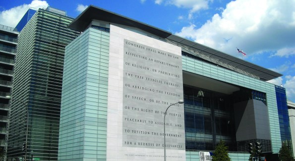 Brennan lists the Newseum as one of her favorite spots (Photo courtesy Flickr user NCinDC)