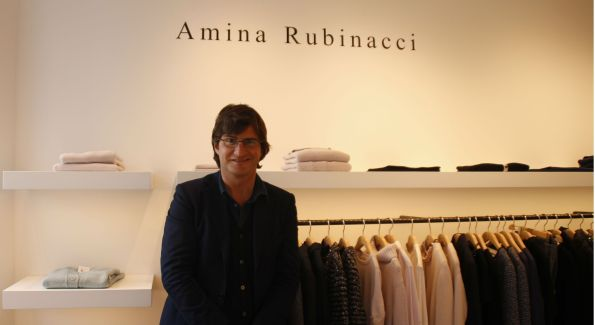 Alessandro Spada at Amina Rubinacci in Georgetown. (Photo by Catherine Trifiletti)