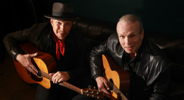 Dave Alvin (L) and Phil Alvin play The Birchmere Saturday October 31st (Photo Courtesy of Jeff Fasano)