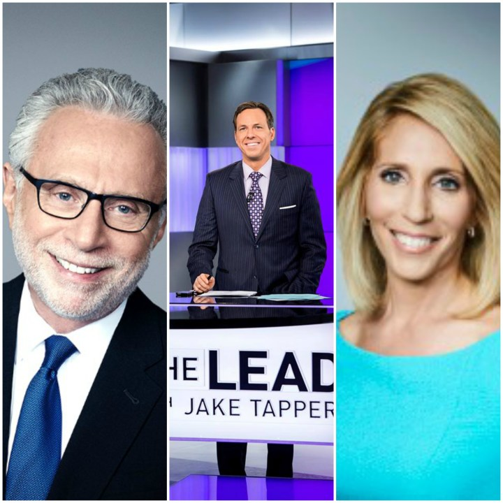 Wolf Blitzer, Jake Tapper and Dana Bash