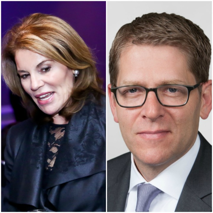 Teresa Carlson and Jay Carney