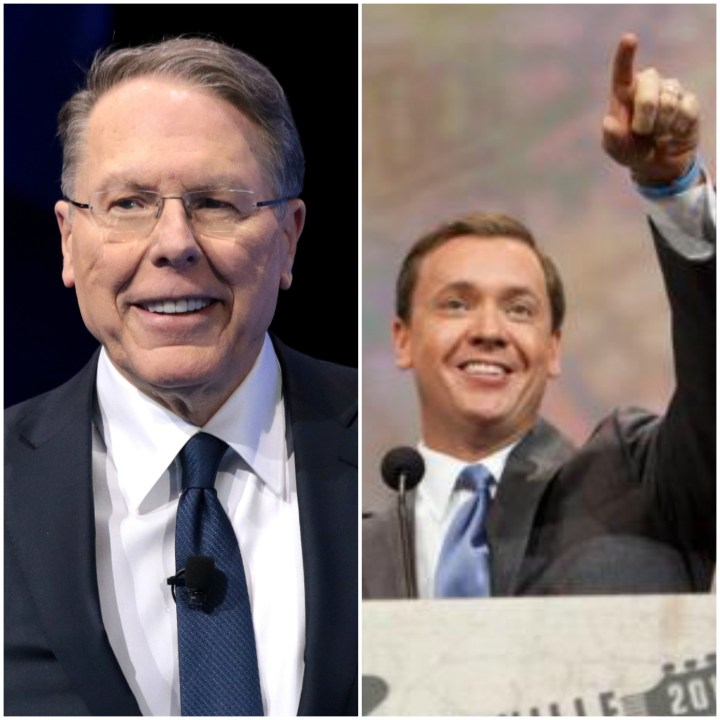 Wayne LaPierre and Chris Cox
