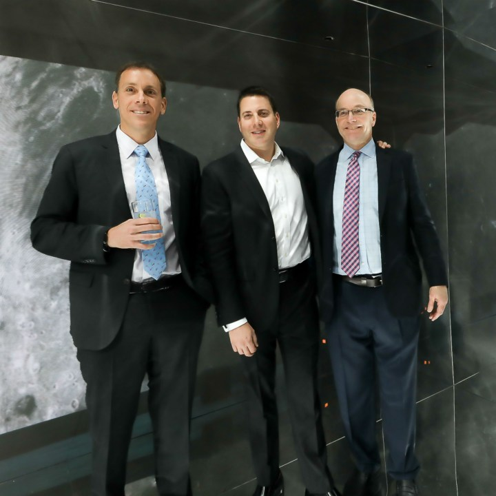 Mike Allen, Roy Schwartz and Jim Vandehei