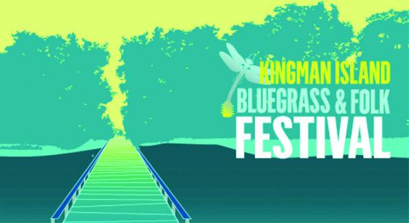 Kingman Island Bluegrass Festival Banner (Courtesy Image)