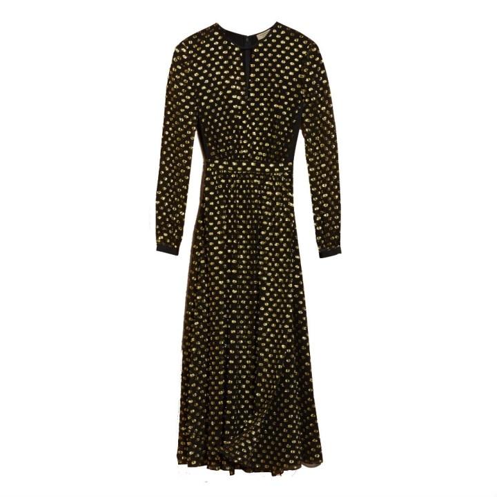metallic-burberry-dress