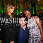 Photo by Tony Powell. Tracy Wilson Mourning, Danny Devito, Aba Kwawu. Angels in Adoption Gala. Reagan Building. October 6, 2010