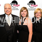 Photo by Tony Powell. Mark, Cara, and Merrill Shugoll. Arena Stage Opening Gala Celebration. Mead Center. October 25, 2010